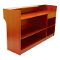 "72"" Knocked Down Ledgetop Counter - Cherry"