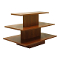 3 Tier Rectangular Display Table - Cherry