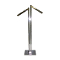 2 Way Clothing Rack With Rectangular Waterfall Arms - Chrome
