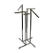 4 Way Clothing Rack With Combination Square Arms - Chrome