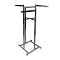 "High Capacity 4 Way Clothing Rack With 22"" Arms - Chrome"