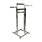 "4 Way Clothing Rack With 16""-22"" Telescoping Arms - Chrome"