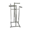 "High Capacity 4 Way Clothing Rack With 16"" Arms - Chrome"
