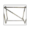 Z Brace For Double Bar Clothing Rack - Chrome