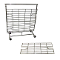 Screen & Shelf For Collapsible Salesman Clothing Rack - Chrome