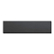 "12""D X 48""L Wood Shelf - Black"