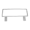 "7""H X 22""W Grid Top Mount Sign Holder - White"
