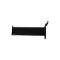 "6"" Rectangular Tube Slat Faceout - Black"