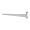 "14"" Grid Shelf Bracket - White"