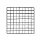 "14"" X 14"" Mini Grid Panel - Black"