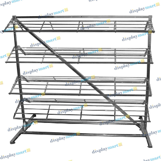 Shoe Rack - Chrome