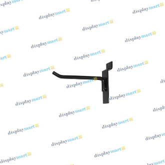 "4"" Slat Hook - Black"
