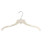 "17"" Break Resistant Dress / Shirt Hanger - Clear"