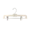 "12"" Children's Pant / Skirt Hanger - Clear"
