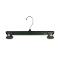 "12"" Break Resistant Pant / Skirt Hanger - Black"