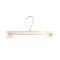"12"" Break Resistant Pant / Skirt Hanger - Clear"