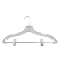 "17"" Suit Hanger - Clear"