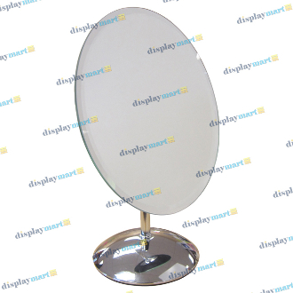 "8""W X 10""H Glass Countertop Mirror"