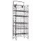 Wire Shelf Display Stand - Black