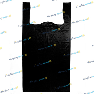 Box Of Jumbo Plastic Shopping Bags - Black