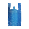 Roll Of Plastic Shopping Bags - Blue