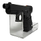 Acrylic Countertop Pistol Display - Clear