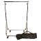 Foldable Clothing Rack With Carrying Bag - Chrome