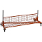 Folding Shelf For Single Bar Z Rack - OSHA Orange