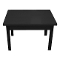 "32""W X 24""D X 19""H Nesting Table - Black"