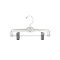 "10"" Children's Pant / Skirt Hanger - Clear"