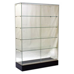 Frameless Wall Display Cases